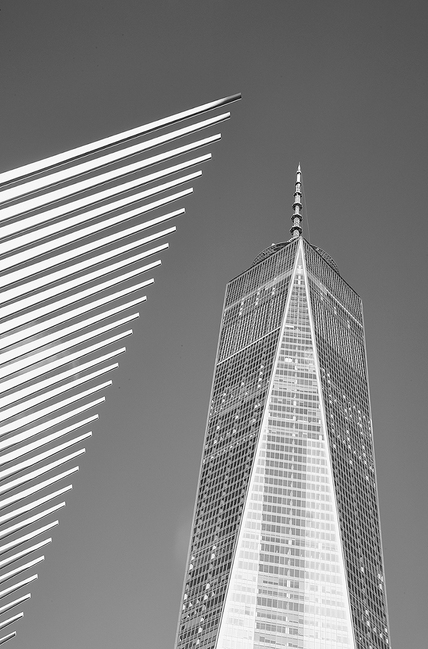 One World Trade Center with The Oculus