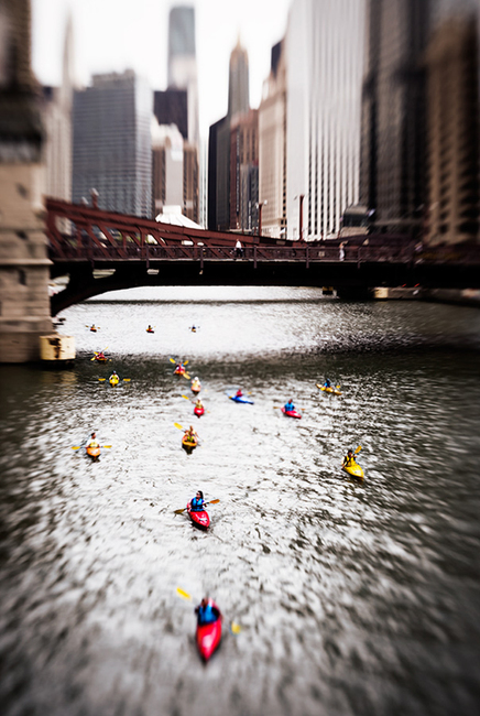The Chicago River: Chicago, IL