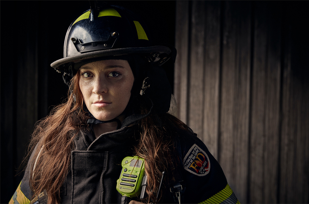 Amanda: Firefighter, Savannah, GA