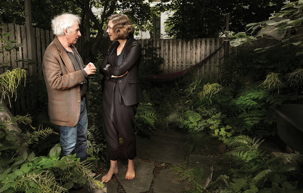 Actors Austin Pendleton and Maggie Gyllenhaal