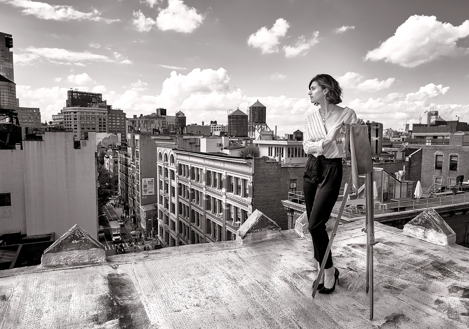 Fashion: Rooftop, SoHo, NYC