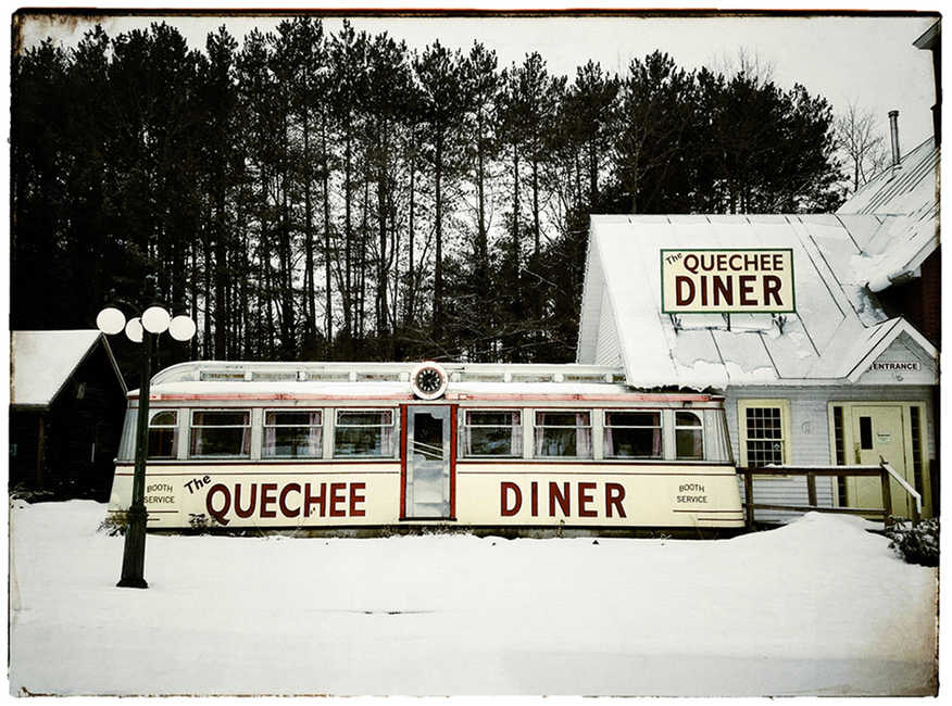 The Farmer's Diner: Quechee, Vermont